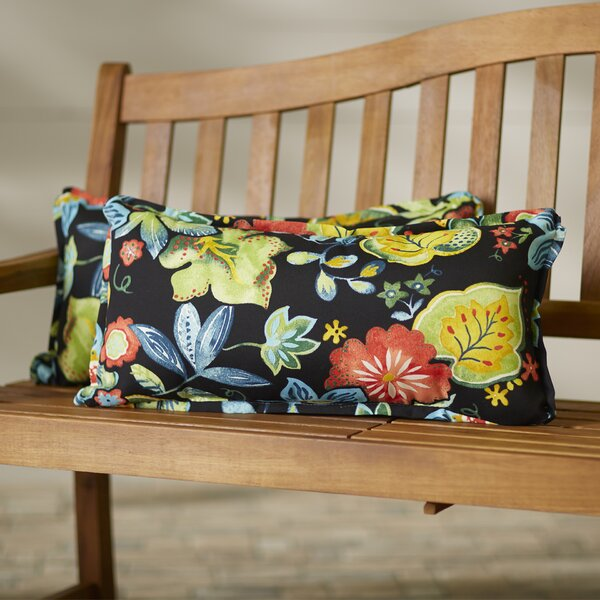 Windy Indoor/Outdoor Lumbar Pillow (Set of 2) by Red Barrel Studio