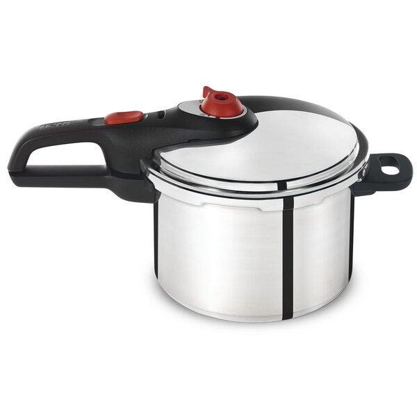 6-Quart Pressure Cooker by T-fal