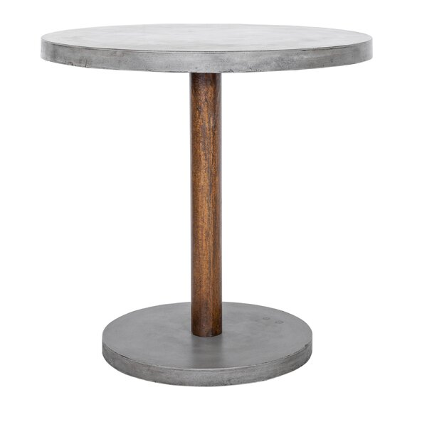 Wiebke Stone/Concrete Bar Table by 17 Stories