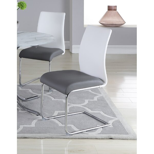 Souhail Upholstered Dining Chair (Set of 4) by Orren Ellis