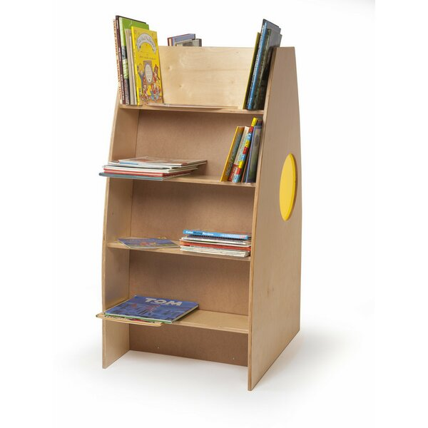 Alone Zone Double Sided Book Display with Casters by Whitney Brothers