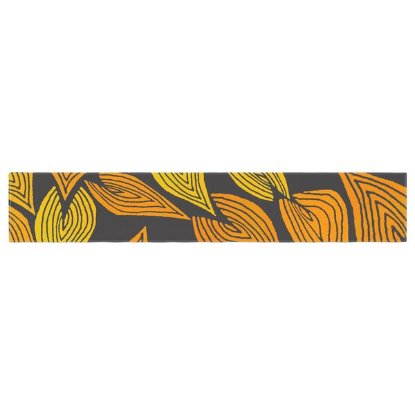Pom Graphic Design Autumn II Table Runner by East Urban Home