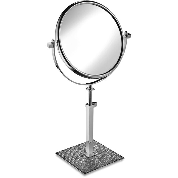 Patrice Circular Makeup/Shaving Mirror by Rosdorf Park