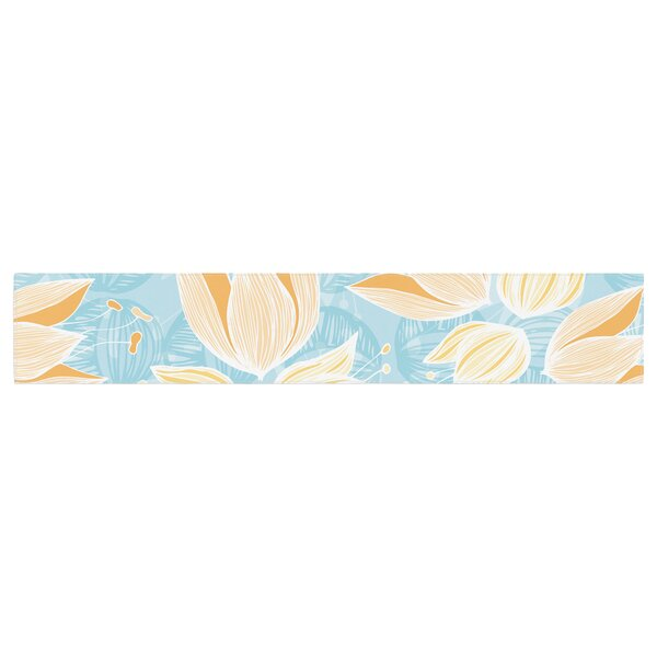Anchobee Giallo Table Runner by East Urban Home