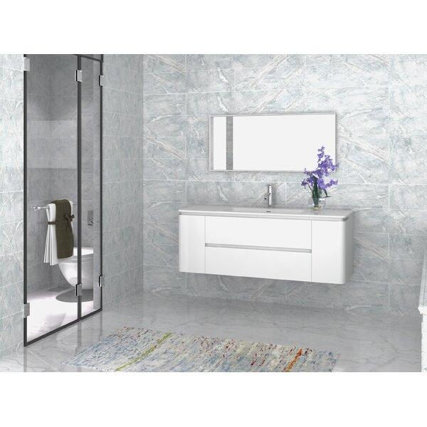 Kleinschmidt 55 Single Bathroom Vanity with Mirror by Orren Ellis