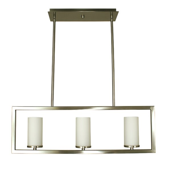 Theorem 3-Light Kitchen Island Pendant by Framburg