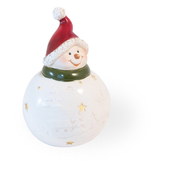Happy Snowman Led Home Accent by The Holiday Aisle