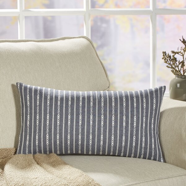 Trellis Seabury Chambray Pillow Cover by Birch Lane™