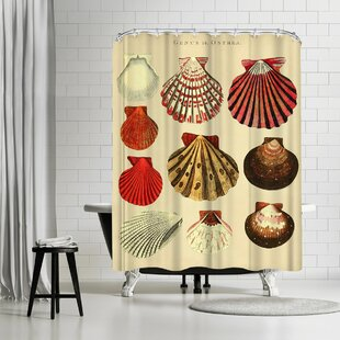 Order Adams Ale Oysters Shower Curtain By East Urban Home