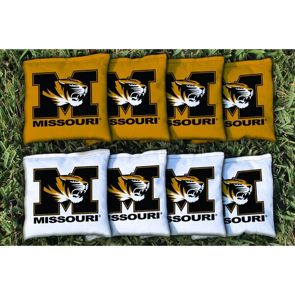 NCAA Replacement All Weather Cornhole Bag Set by Victory Tailgate