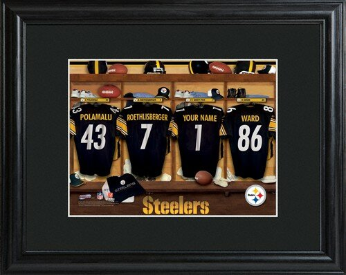 Locker Room Framed Photographic Print by JDS Personalized Gifts