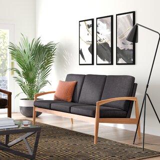 Alaina Curved Arm Sofa by Langley Street SKU:DE888522 Reviews