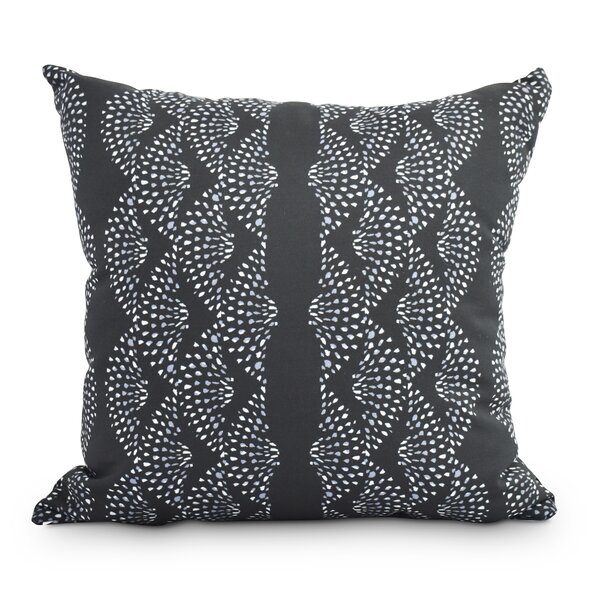 Ladwig Dotted Outdoor Throw Pillow by Winston Porter