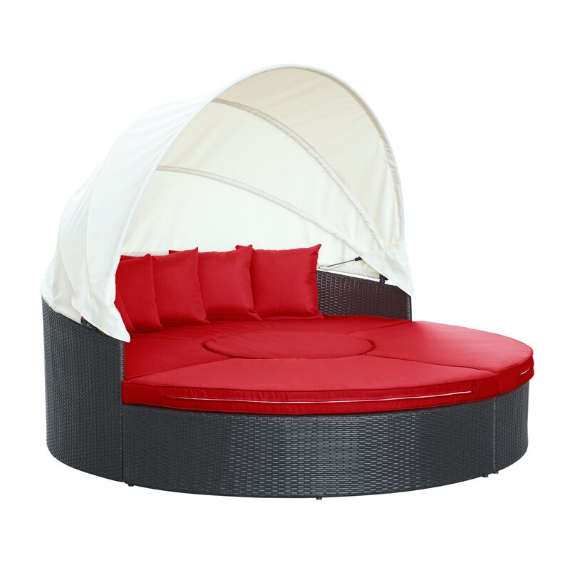 Quest Canopy Daybed Seating Group With Cushions Amp Reviews