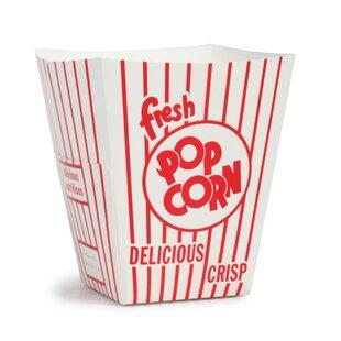 85 Oz. Popcorn Box (Set of 100) by Great Northern Popcorn