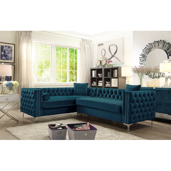 Alsafi Right Hand Facing Sectional By Everly Quinn