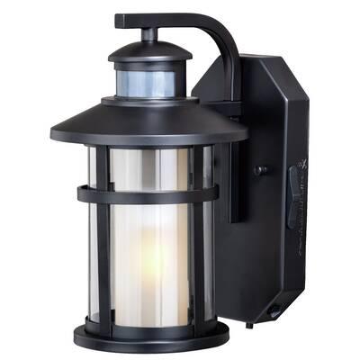 Breakwater Bay Engler Outdoor Wall Lantern With Motion Sensor Wayfair