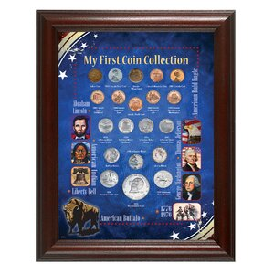 Great Beginner's My First Coin Collection Framed Memorabilia by American Coin Treasures