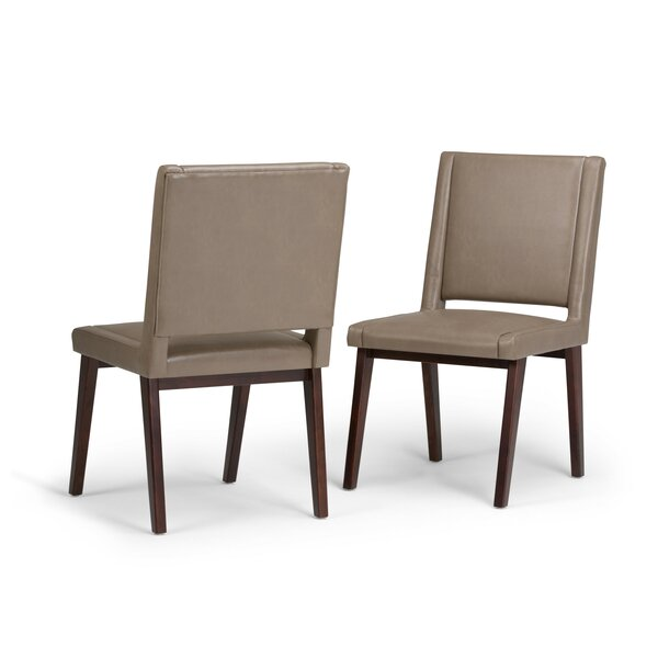 Halvorson Deluxe Upholstered Dining Chair (Set of 2) by George Oliver