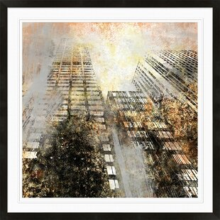 Tall Building Framed Graphic Art