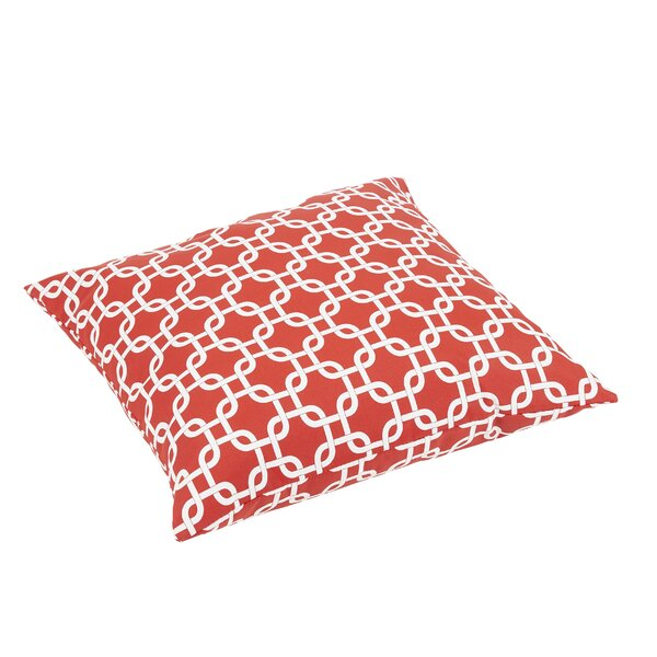Replogle Knife Edge Indoor/Outdoor Floor Pillow by Brayden Studio