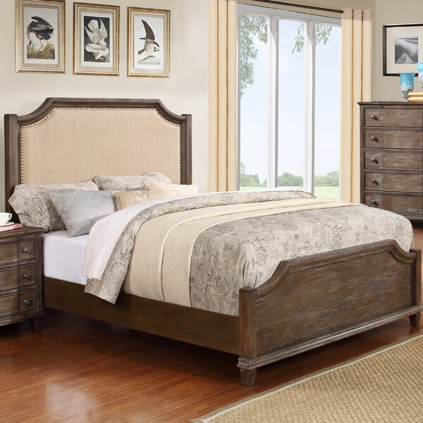 Baston Upholstered  Standard Bed by Darby Home Co