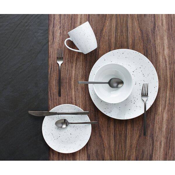 Bernier Speckle 16 Piece Dinnerware Set, Service for 4 by Wrought Studio