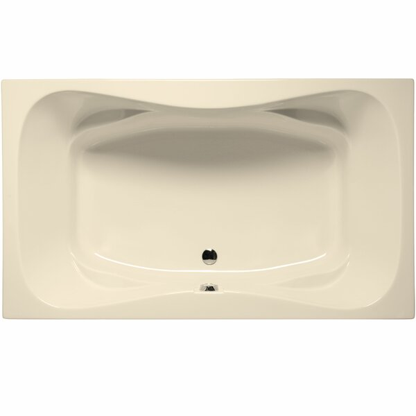 Oceanside 72 x 42 Soaking Bathtub by Malibu Home Inc.