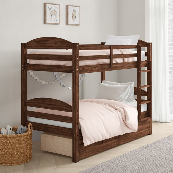 Ralph Twin over Twin Bunk Bed with Drawers by Viv + Rae