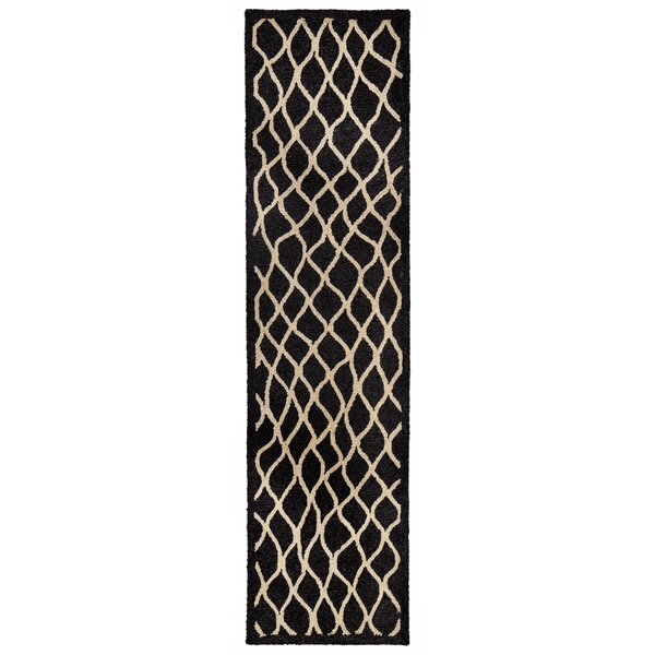 Bogard Hand-Tufted Charcoal Indoor/Outdoor Area Rug by Highland Dunes