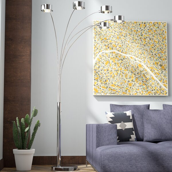 Cheddington 88 Tree Floor Lamp by Wade Logan