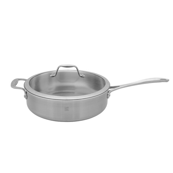 Spirit 3-ply Stainless Steel Saute Pan by Zwilling JA Henckels