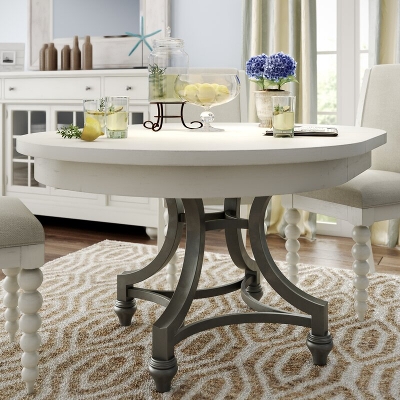 Lark Manor Saguenay Round Dining Table & Reviews