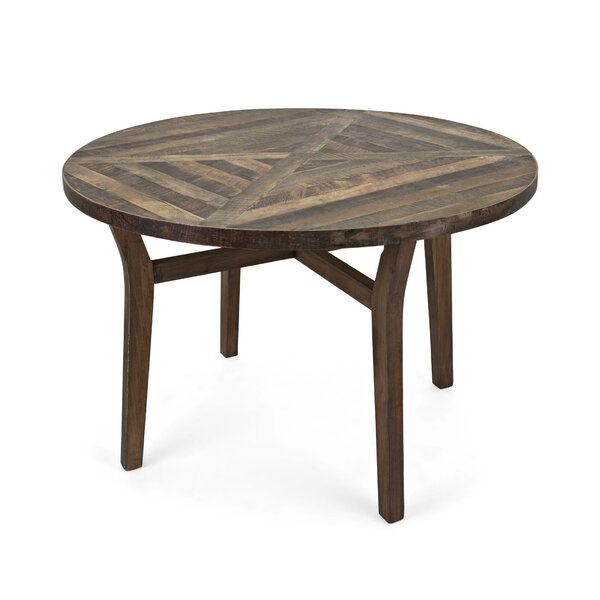 Valerii Solid Wood Dining Table by Union Rustic