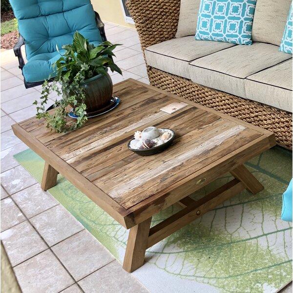 Recycled Teak Coffee Table by Chic Teak