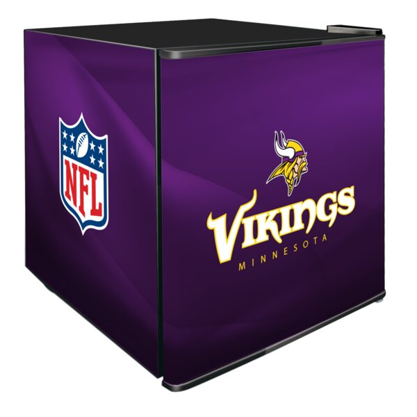 NFL 1.8 cu. ft. Compact Refrigerator by Glaros
