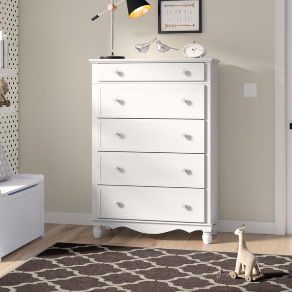 Andre 5 Drawer Chest by Viv + Rae