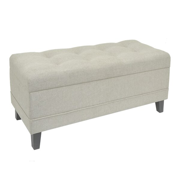 Quoc Upholstered Storage Bench by Red Barrel Studio