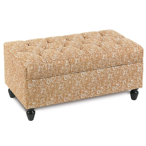 Edith Storage Ottoman by Eastern Accents