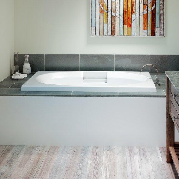 Nova Left-Hand Heater 72 x 42 Drop in Whirlpool Bathtub by Jacuzzi®
