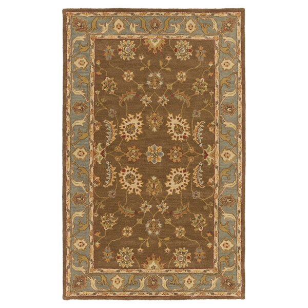 Plemmons Brown Area Rug by Three Posts