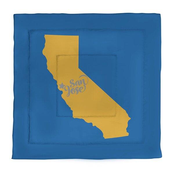 San Jose Single Reversible Comforter