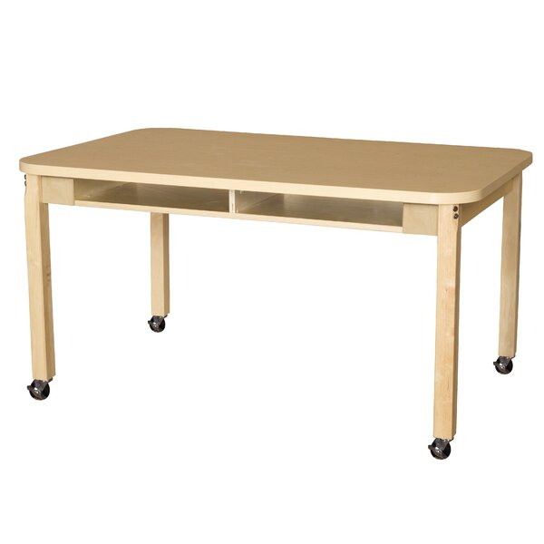 Manufactured Wood 29 Multi-Student Desk by Wood Designs