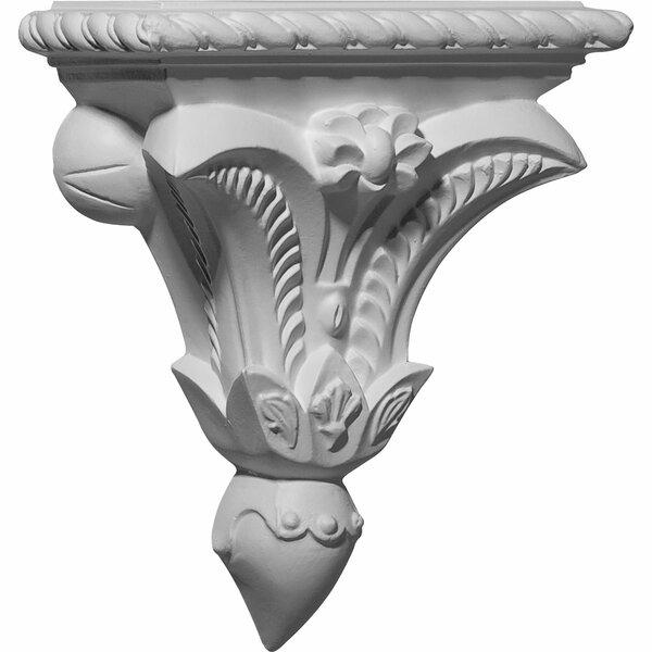 Pompeii 8 3/4H x 7 3/8W x 3 1/4D Corbel by Ekena Millwork