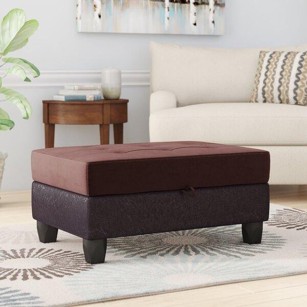 Schuh Storage Ottoman By Winston Porter Coupon