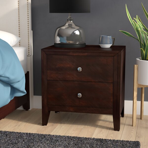 Chara 2 Drawer Nightstand by Latitude Run