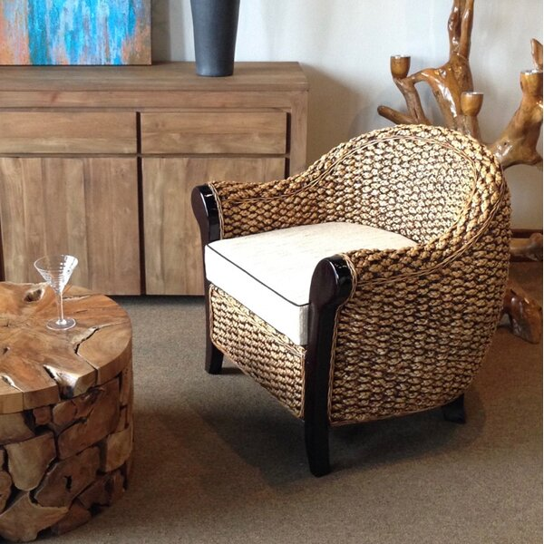 Barrel Chair by Chic Teak