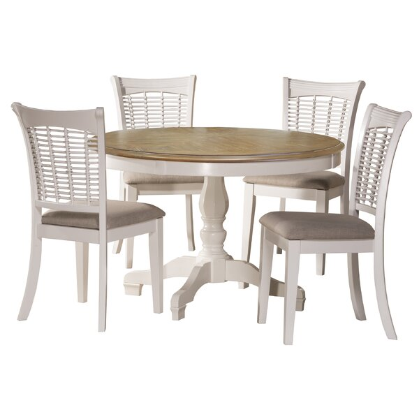 Silsden 5 Piece Dining Set by Red Barrel Studio Red Barrel Studio