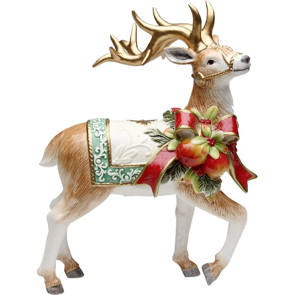Victorian Harvest Reindeer by The Holiday Aisle