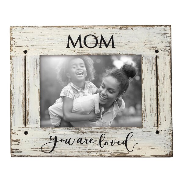 August Grove Cocuzzo Mom Love Picture Frame | Wayfair